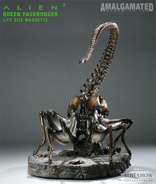 Alien 3 Statue 1/1 Queen Facehugger Maquette 66 cm ...