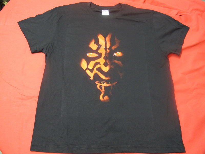 T-SHIRT STAR WARS DARTH MAUL