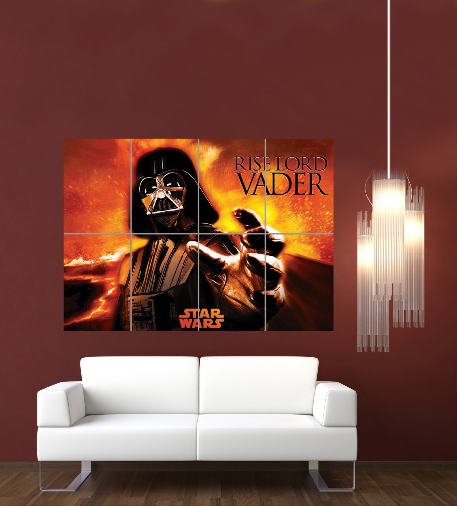 DARTH VADER STAR WARS GIANT POSTER ART PRINT